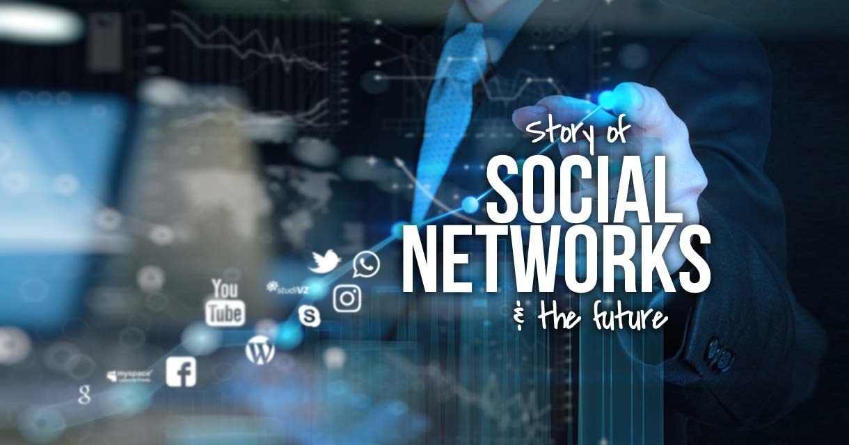 The development of social networks worldwide: History and future