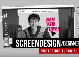 Web design test environment: Photoshop tutorial for managers and advertising agencies