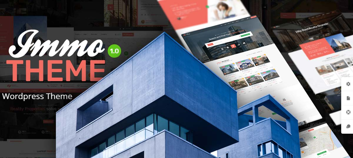 Realtor WordPress Themes: Marketing house and apartment - Recommendation