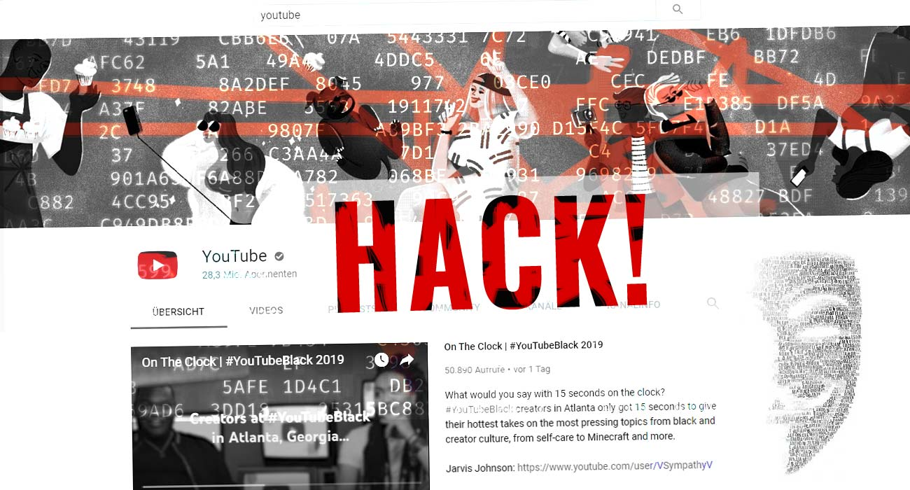 YouTube account hacked! What to do?! Block, delete... - Help