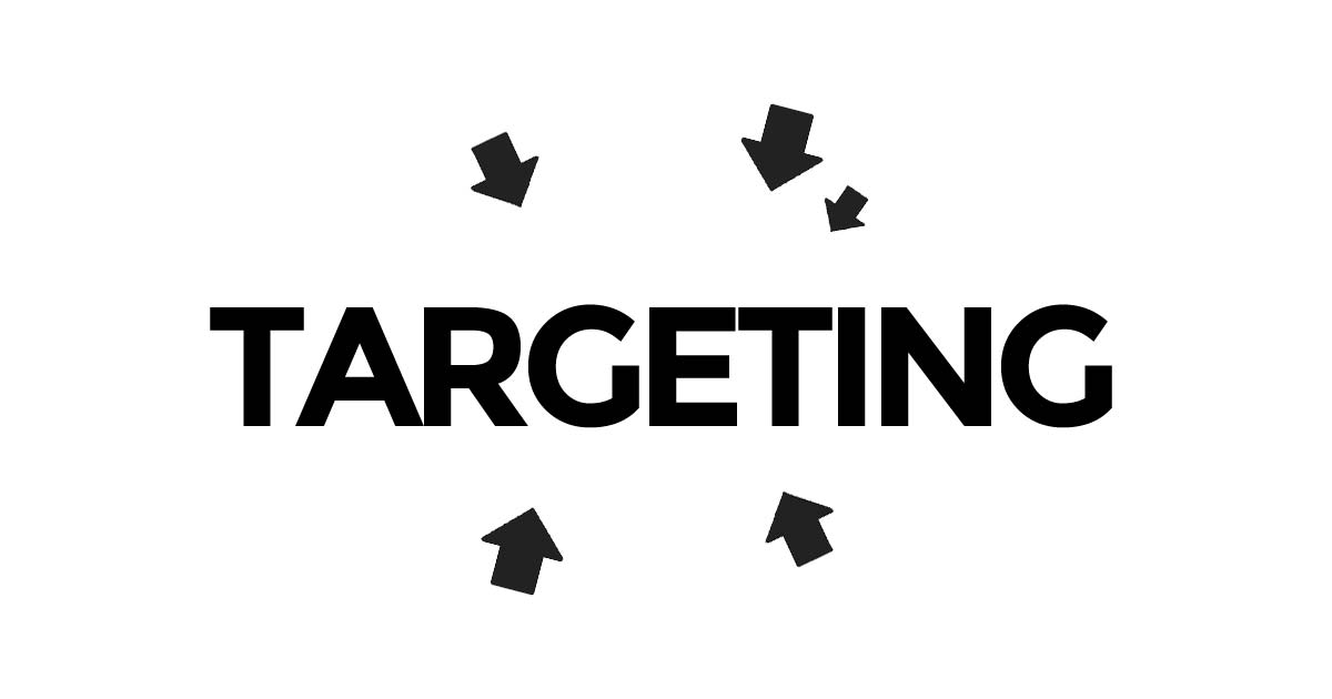 Target groups can be targeted - cities, ages, interestest