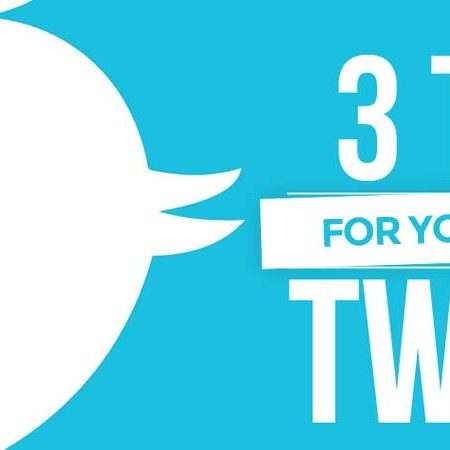 Twitter: 3 tips for the perfect Tweet!