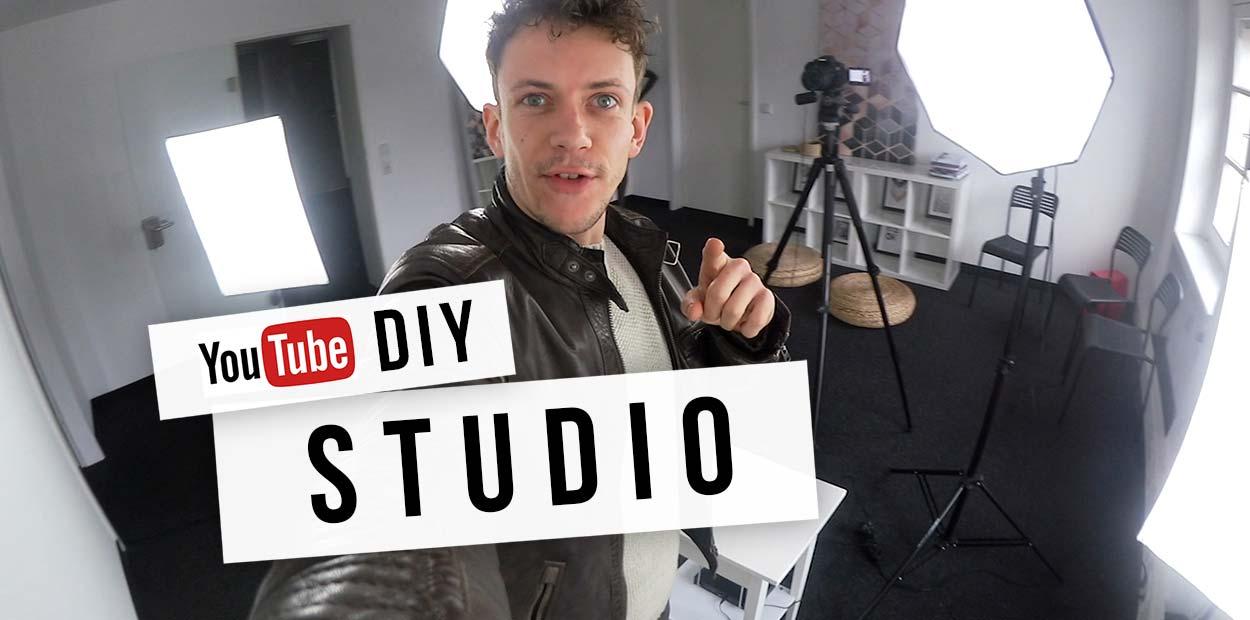 Set up Youtube Studio: Camera, lighting & Co - Cheap at Amazon!