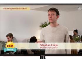 Ryanair Tattoo: Viral reach and profitability – Sat1 Breakfast TV