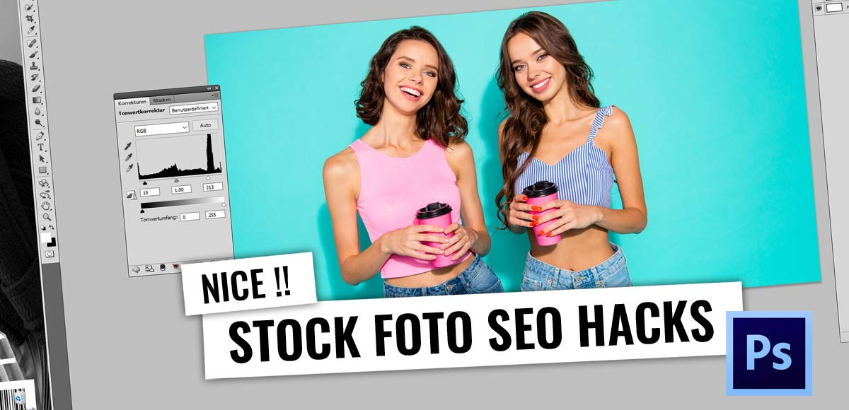 SEO & Photoshop - Duplicate Stock Photos! Cheap and free: Video Tutorial