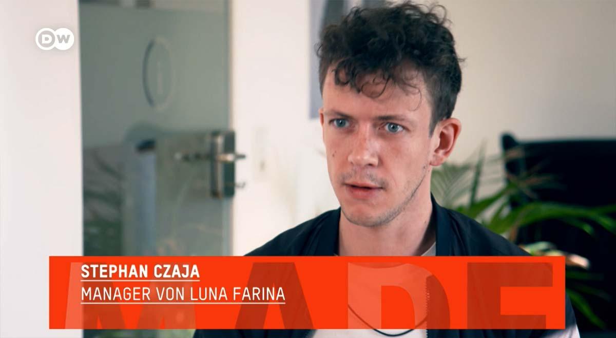 """""""Made in Germany"""" Influencer Marketing - Interview Deutsche Welle DW TV"""