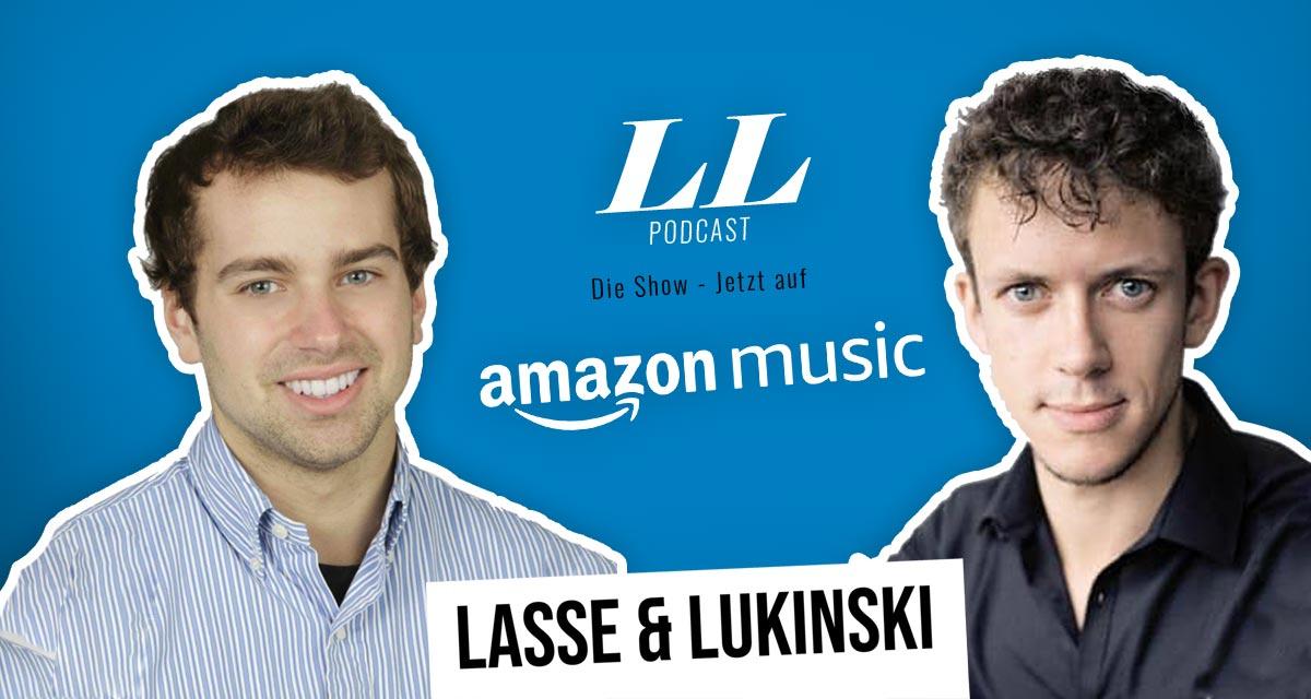 Amazon Music: Lasse & Lukinski Show now also on Amazon!