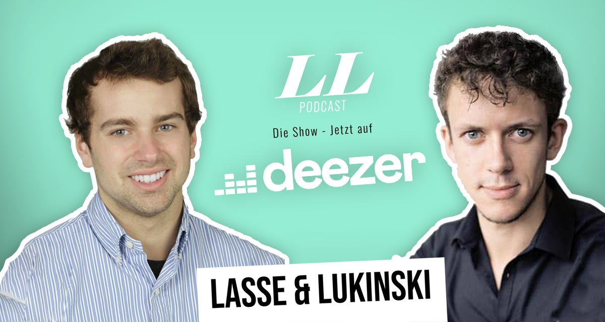 Deezer: Lasse & Lukinski Show now also on Deezer!