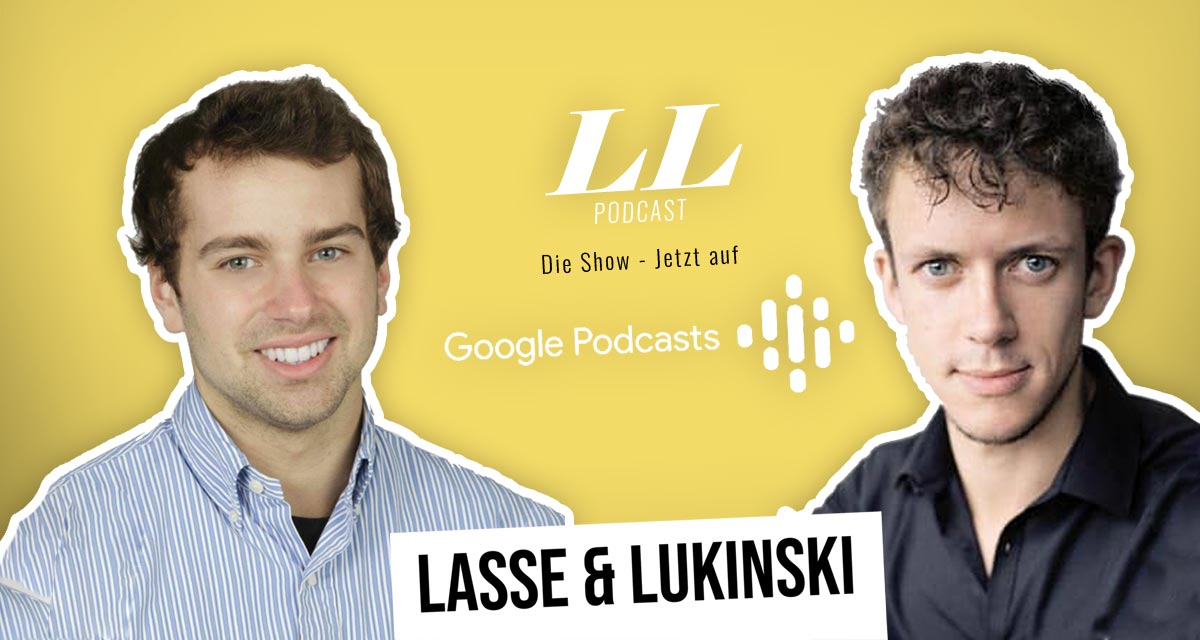 Google Podcasts: Lasse & Lukinski Show now also on Google!