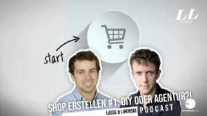 Create an online shop #1: DIY or expensive agency?! - Marketing Podcast