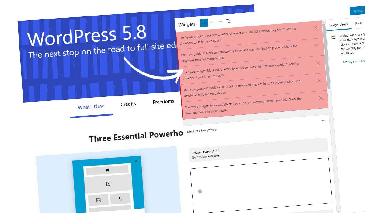 Disable WordPress Block Widget! How to do it in 5 seconds + instructions